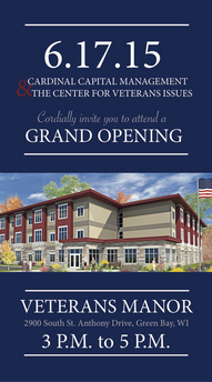 Veterans Manor opeing